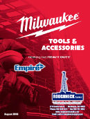 Milwaukee Tools 8/18